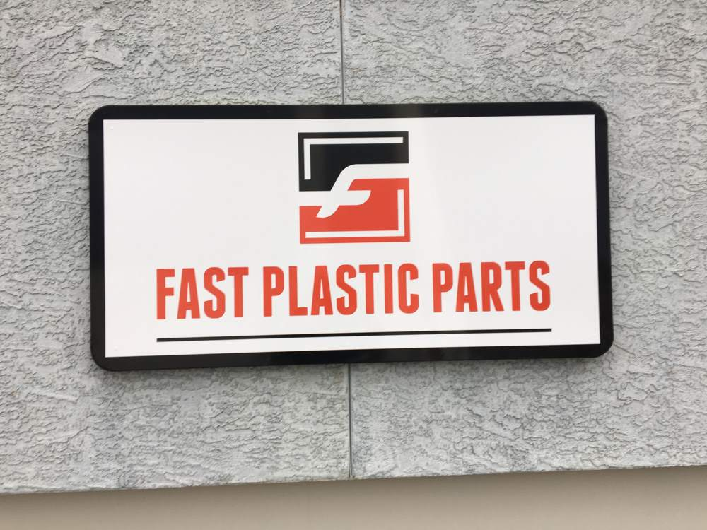 fast plastic parts exterior sign - fast-plastic-parts-exterior-sign