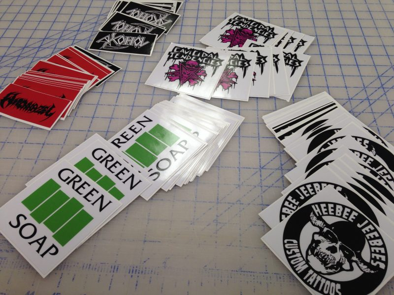 Custom made Stickers