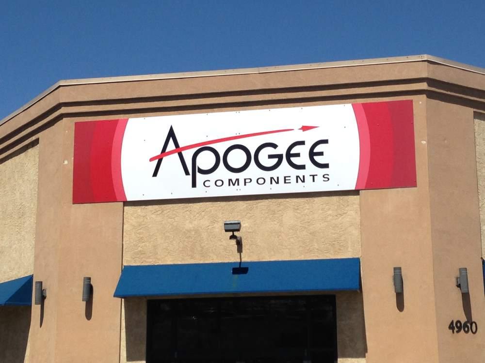 apogee rockets alum. composite sign - apogee-rockets-alum.-composite-sign