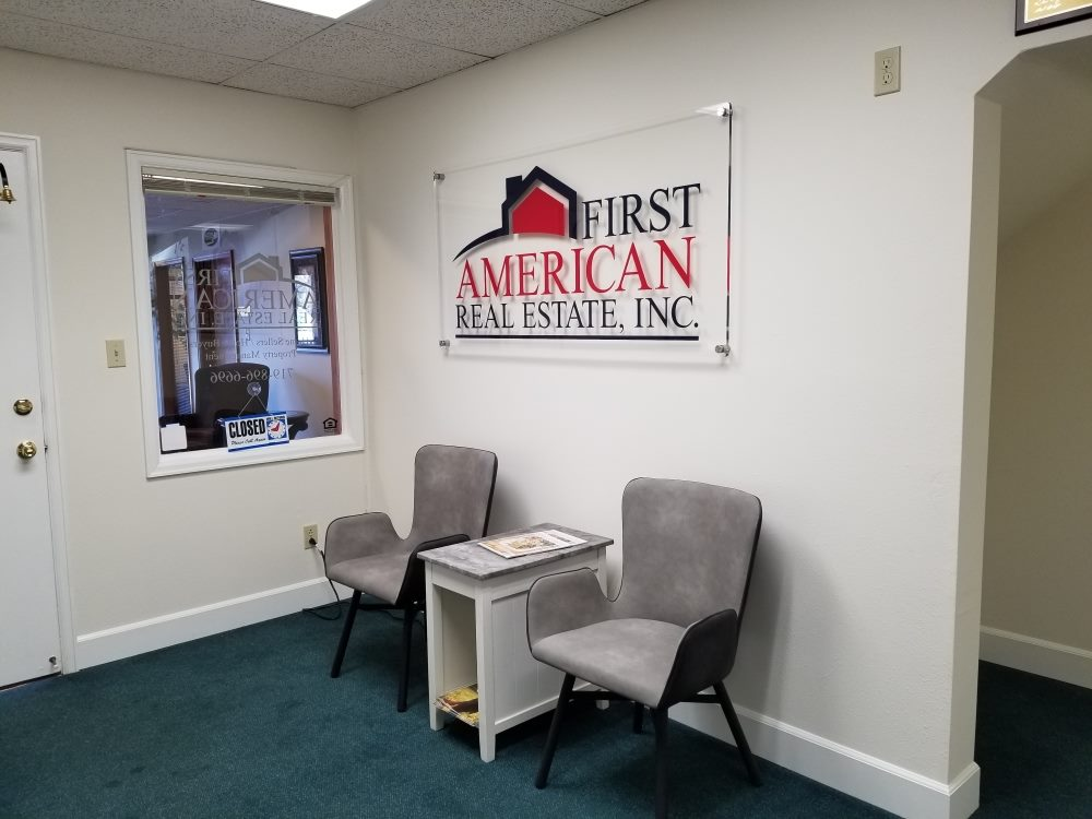 first american acrylic lobby sign - first-american-acrylic-lobby-sign
